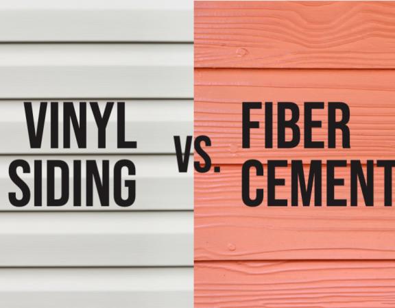 vinyl siding vs fiber cement siding