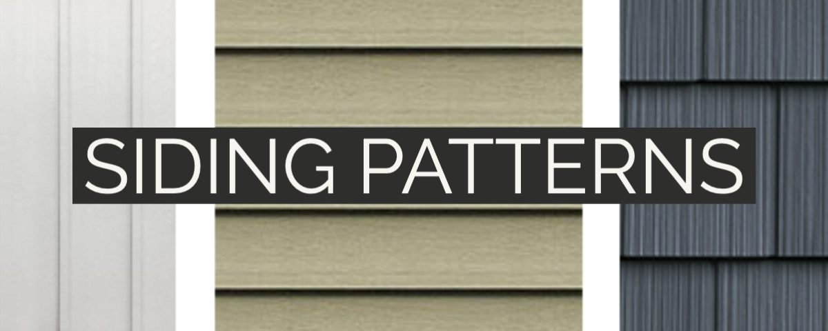 siding patterns